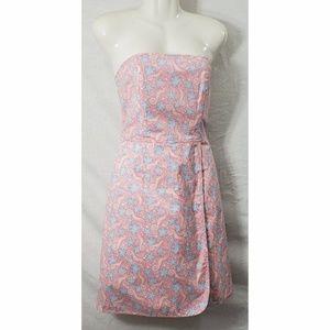 Vineyard Vines Seaside Strapless Dress